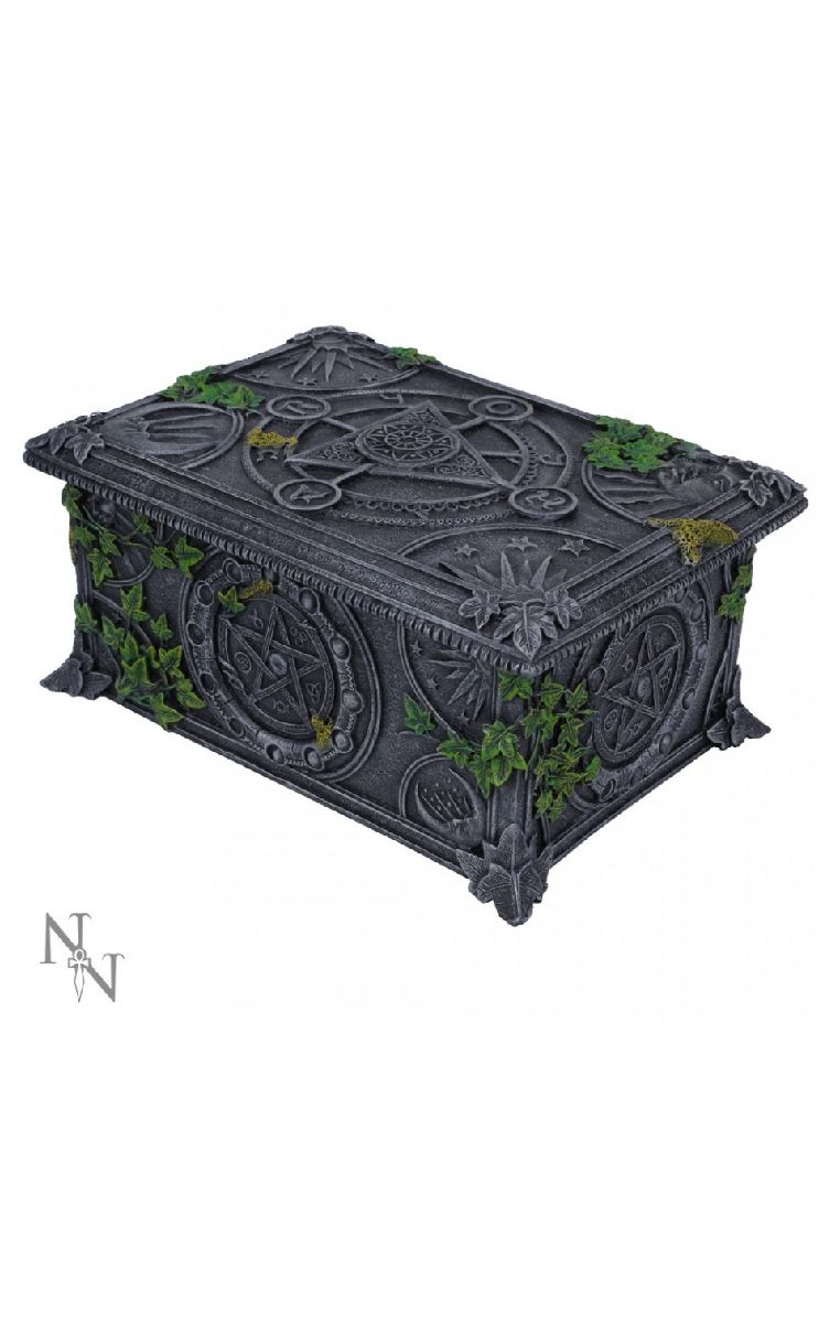 Wiccan Pentagram Tarot Box