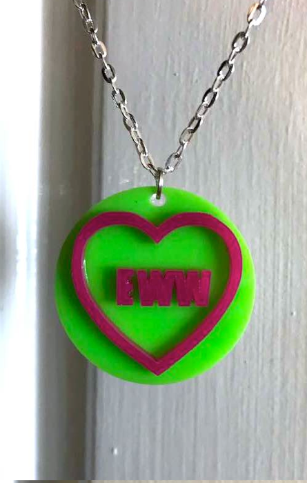 Eww Love Heart Necklace RRP £8.99