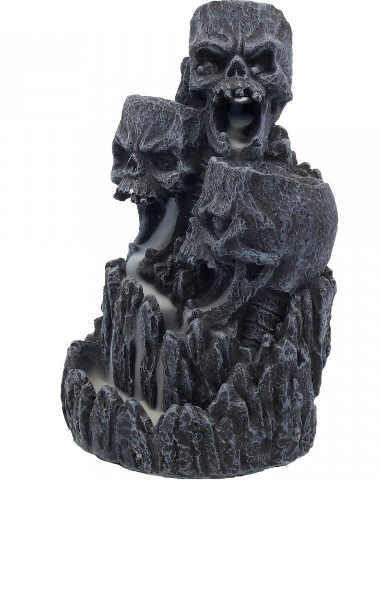 Skull Backflow Incense Tower 17.5cm