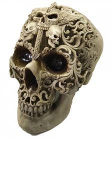 Final Flourish Skull Figure