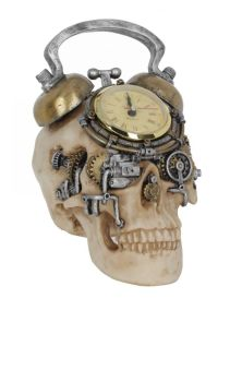 The Final Countdown Skull Figure