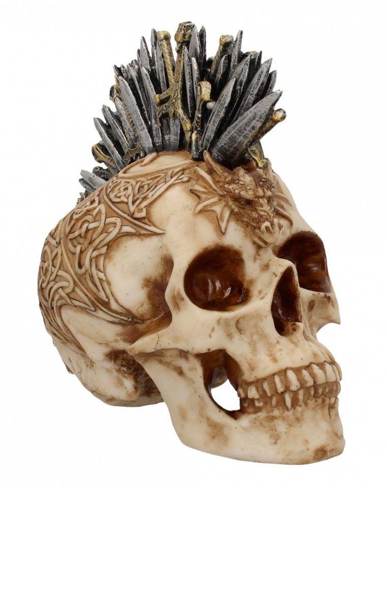 Sword Hawk Skull Figure