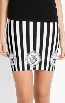 Morte Del Amore Pencil Skirt