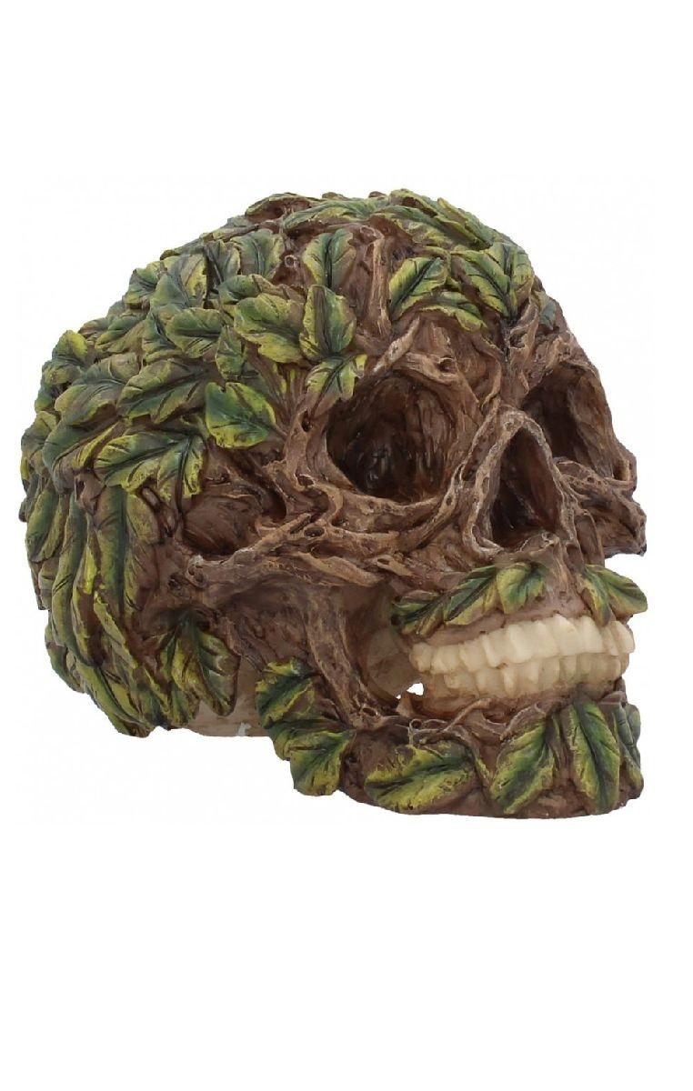 Root Of All Evil Skull Figure