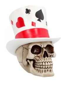 Casino Jack Skull Figure
