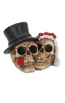 Together Forever Skull Figure