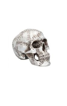 Rivet Head Skull Figure