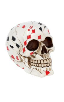 Dead Mans Hand Skull Figure
