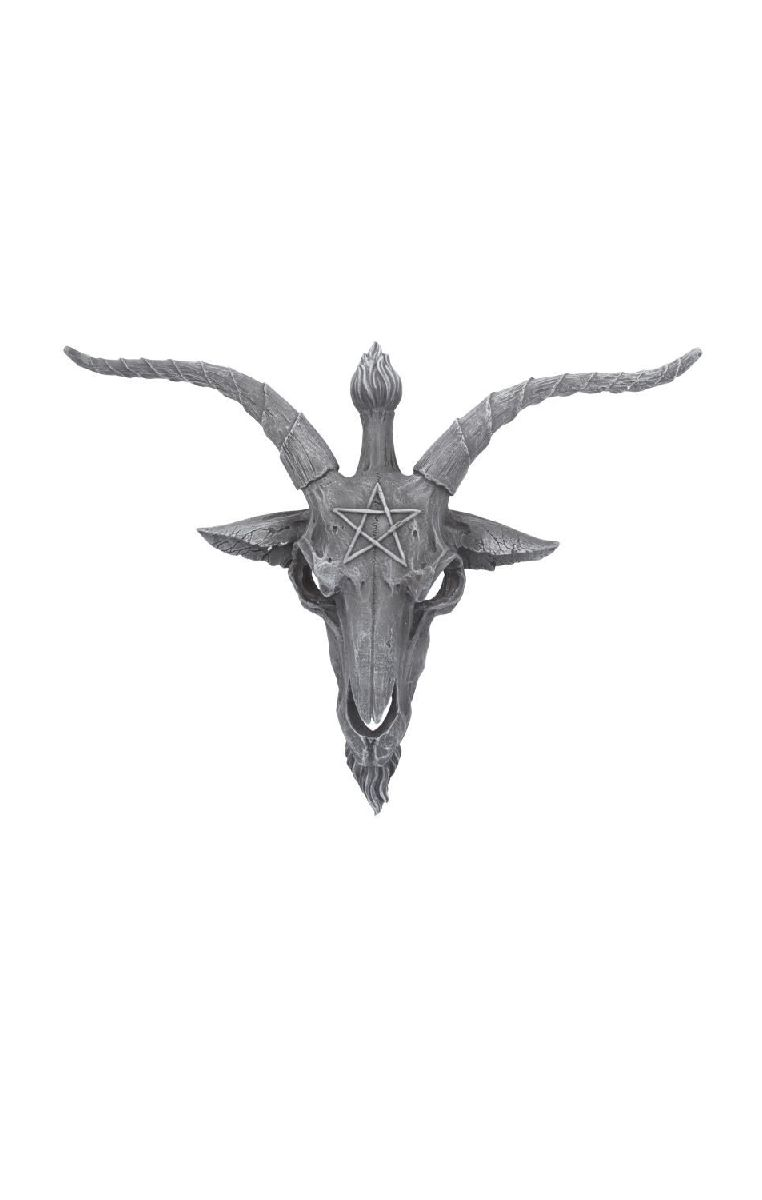 Baphomet Watch Wall Plaque