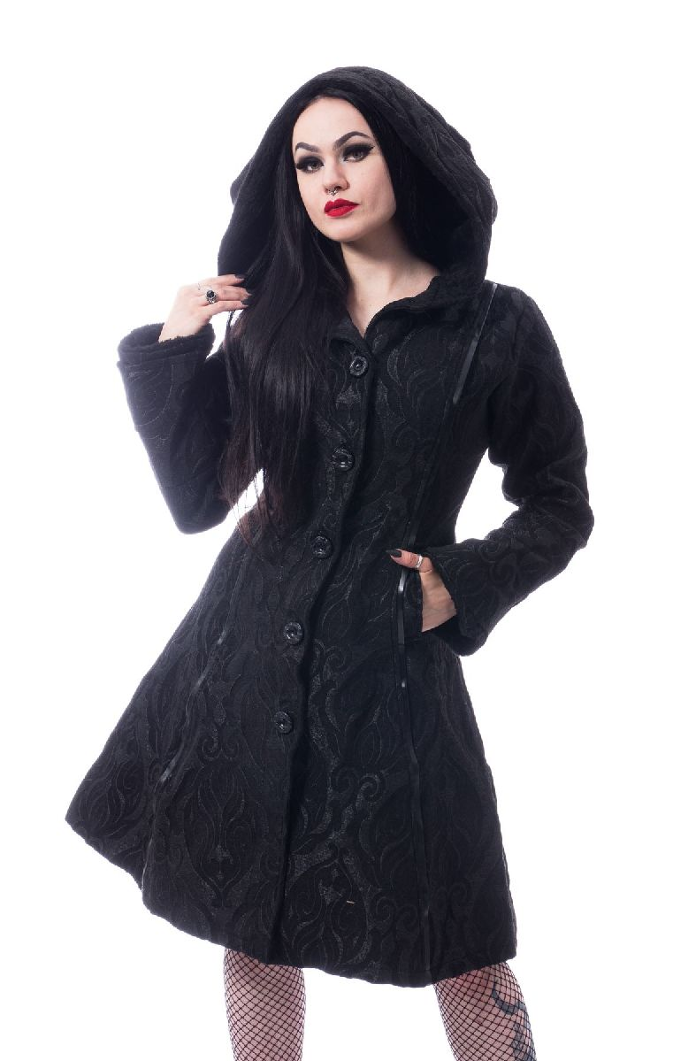 Mansion Coat Black
