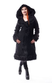 Dark Mase Coat Black