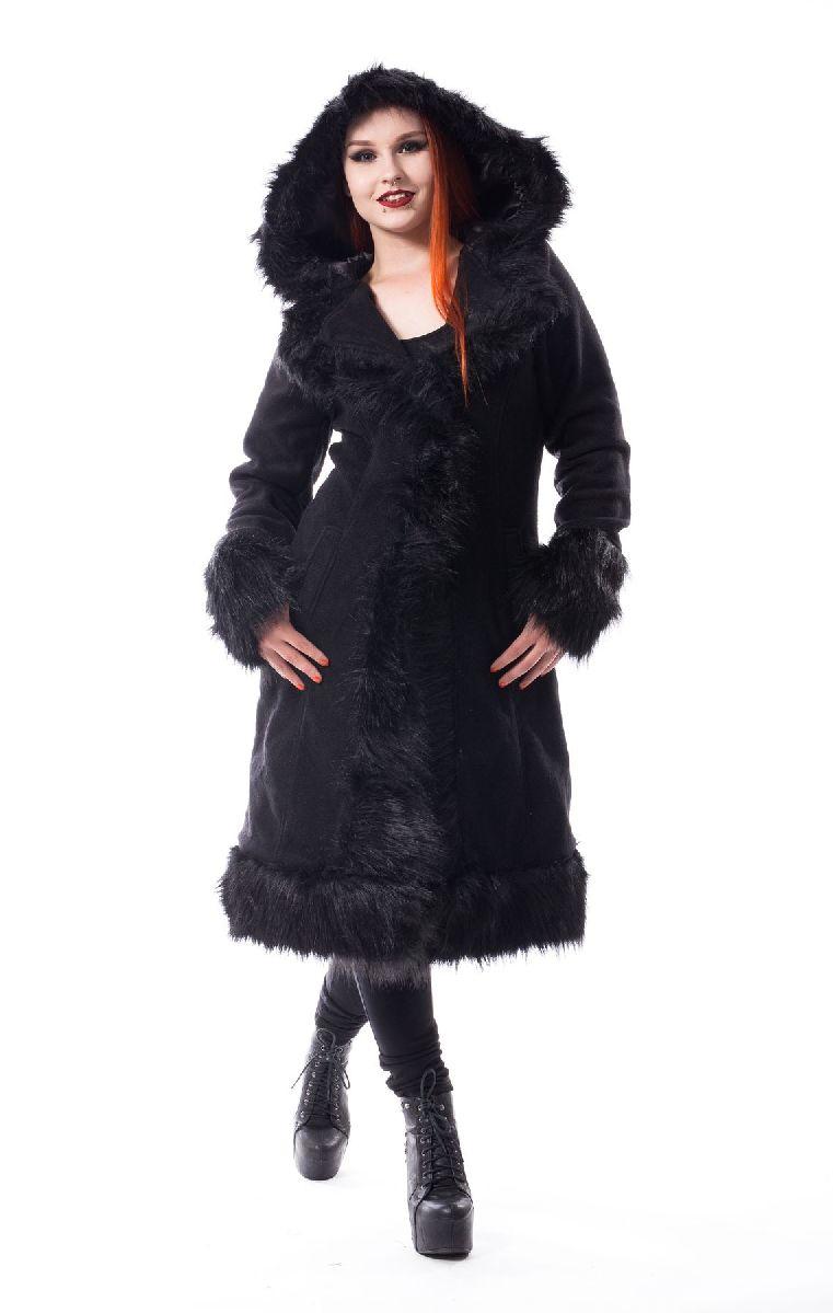Dark Mase Coat Black
