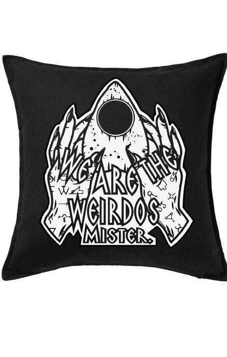Weirdos Cushion RRP £17.99