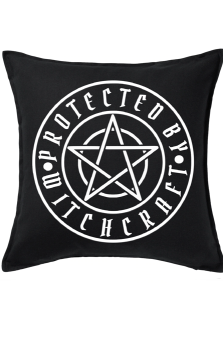 Protected By Witchcraft Cushion