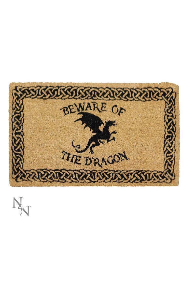 Beware Of The Dragon Doormat
