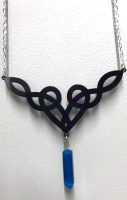 Dara Knot Necklace - 3 colours to choose from