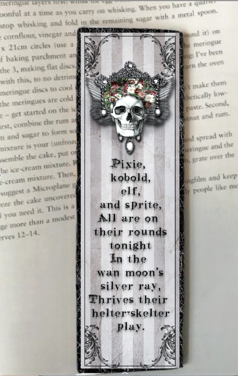 Moons Silver Ray Bookmark