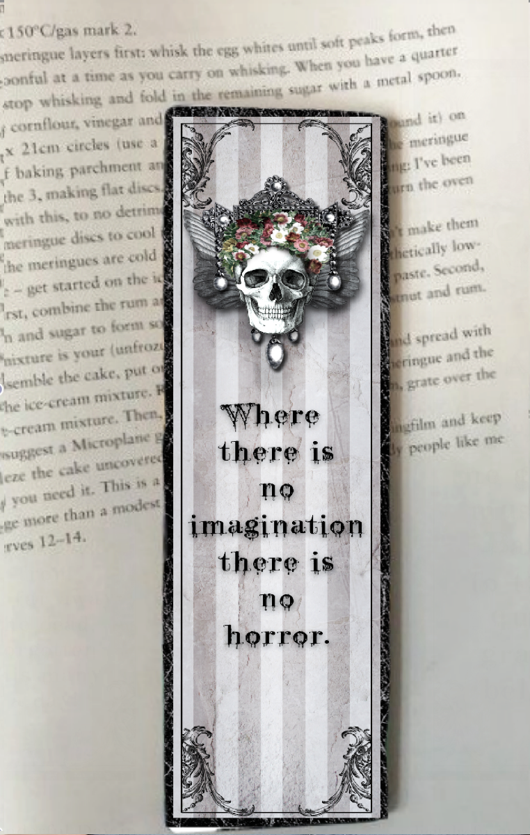 No Imagination Bookmark RRP £6.99