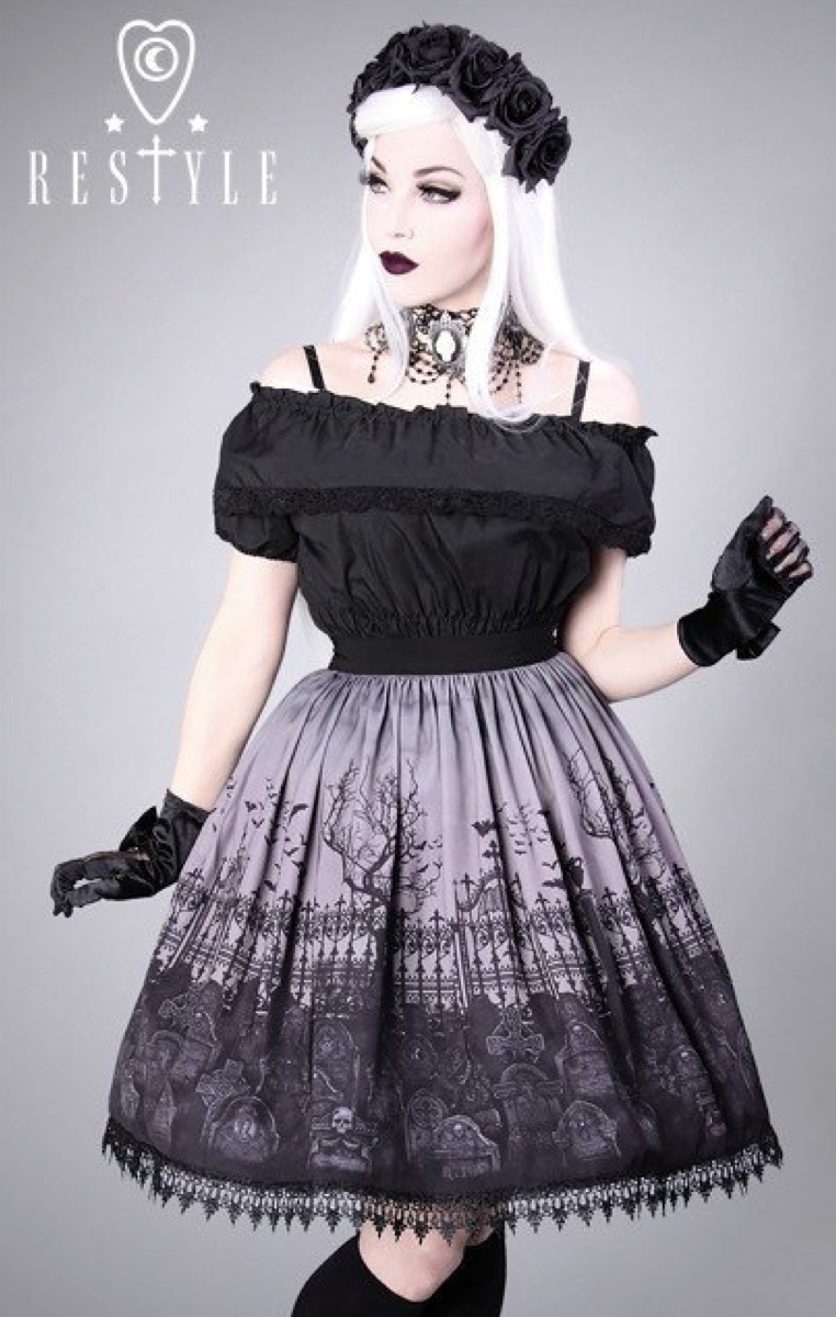 Cemetery Skirt - Grey RRP £49.99