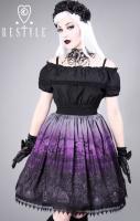 Cemetery Skirt - Purple