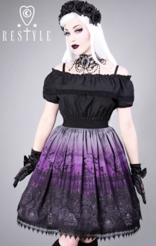 Cemetery Skirt - Purple