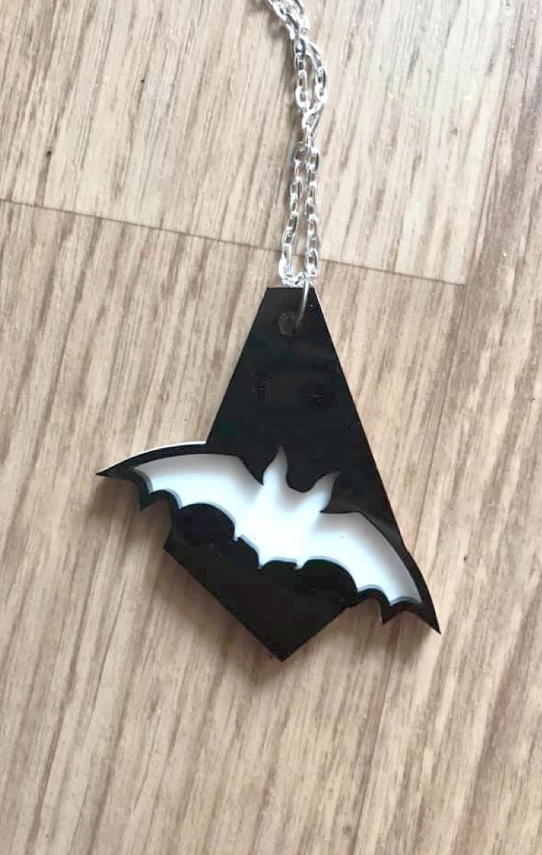 Bat Drop Layered Necklace or Earrings RRP £6.99