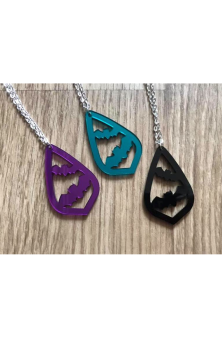 Totally Batty Necklace or Earrings
