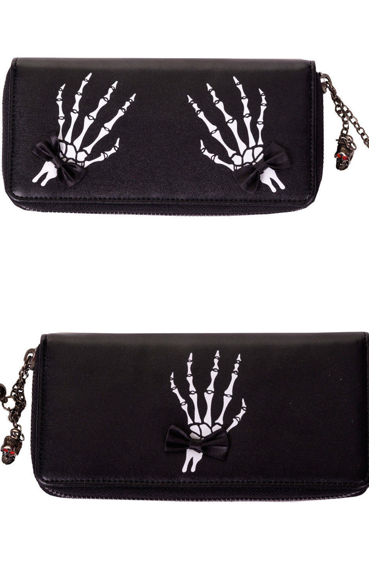 Skeleton Hand Wallet RRP £18.99