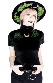 Fern Velvet Forest Top