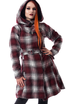 Vail Coat Red Check