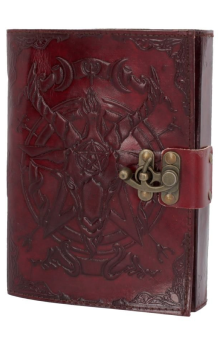 Baphomet Leather Journal