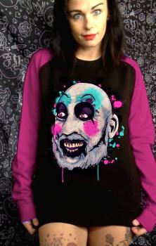 Ain't We Funny Contrast Sweatshirt