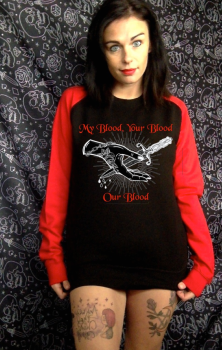 Our Blood Contrast Sweatshirt - Inspired by Practical Magic