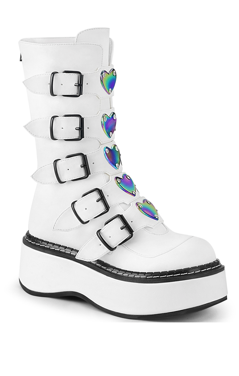 Emily 330 Boots White