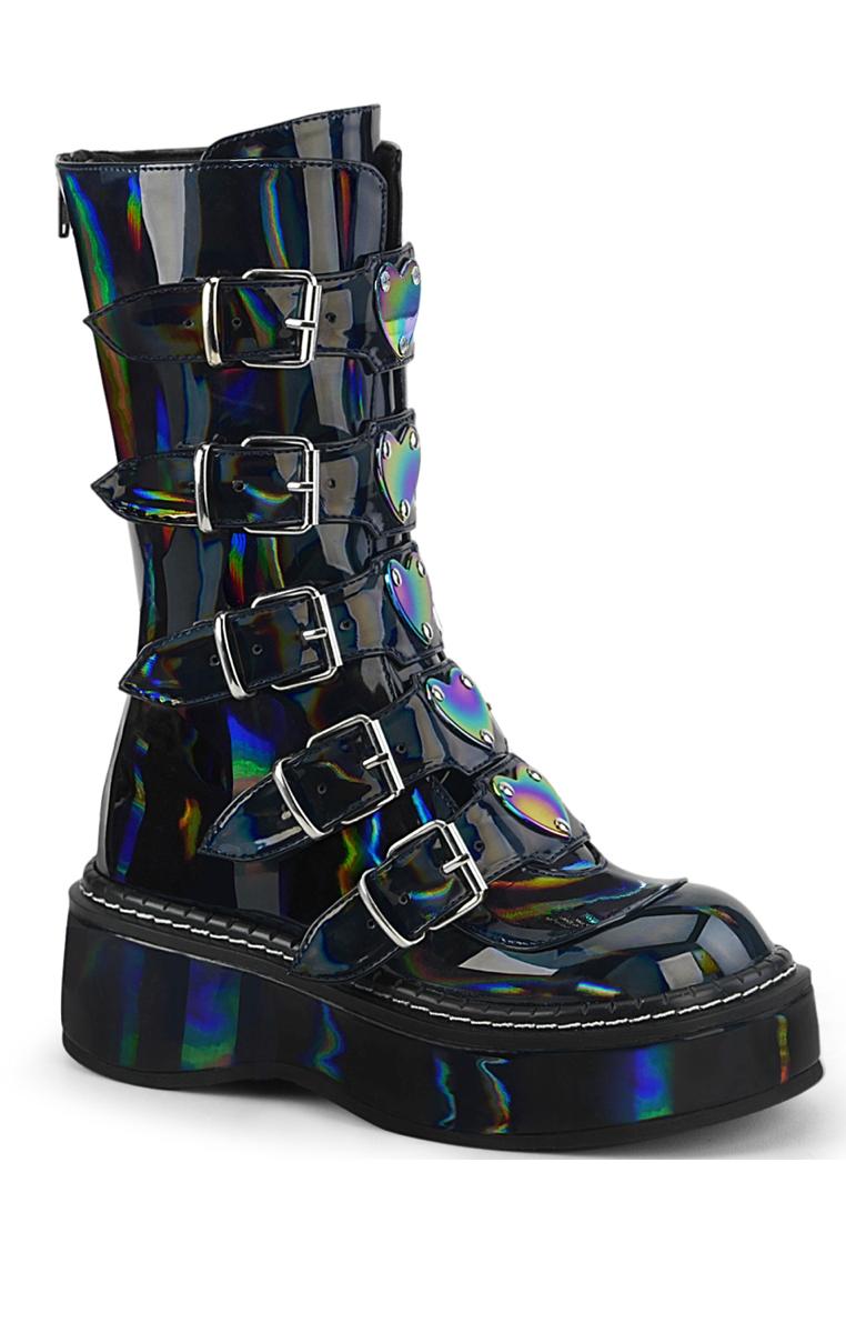 Emily 330 Boots Black Hologram
