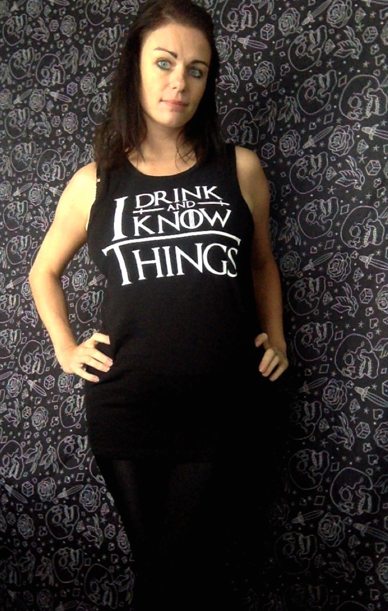 DRINK AND KNOW VEST RRP £18.99