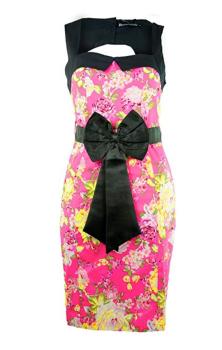 Ophelia Dress Pink S 8 RRP £39.99