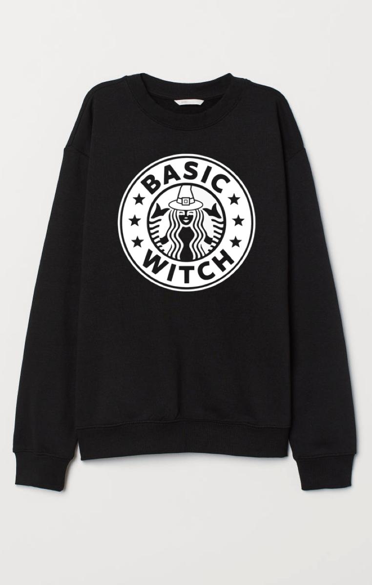 Basic Witch Sweatshirt M 12-14 RRP £29.99