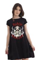 Black Princess Skater Dress RRP £29.99