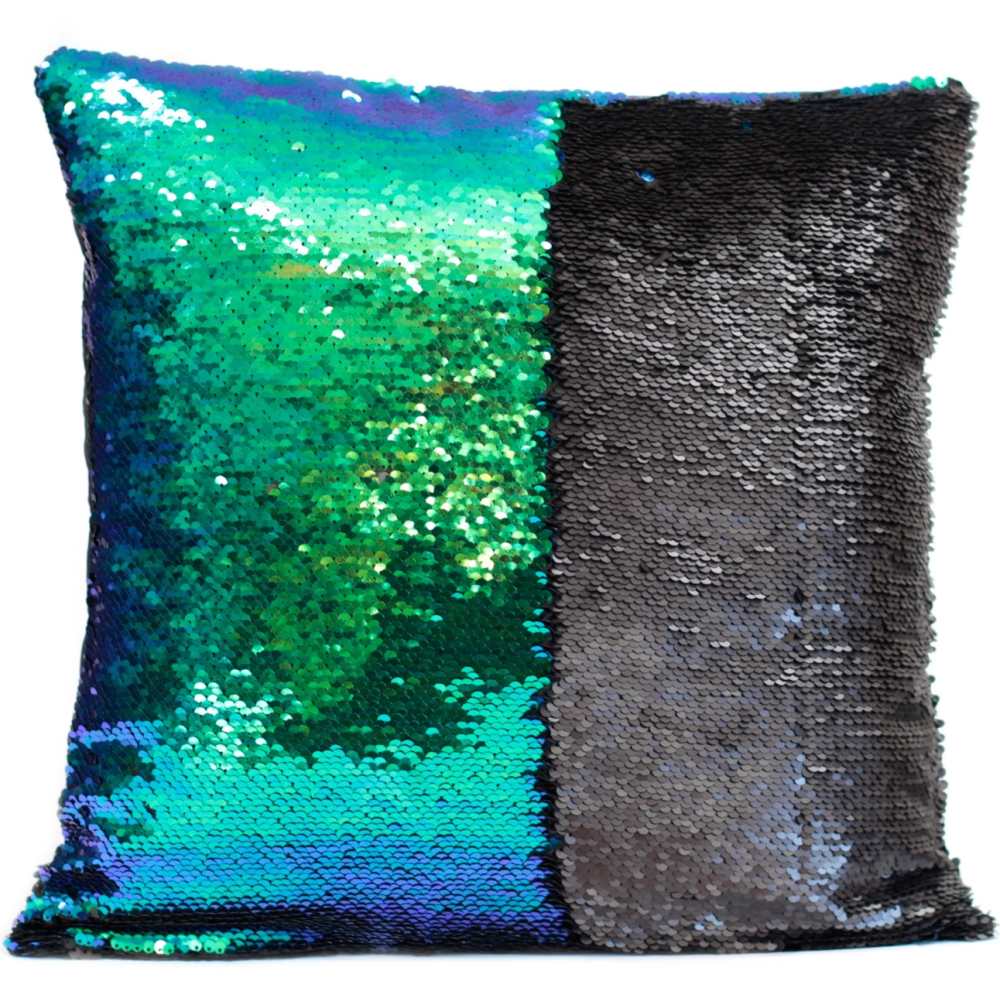 Mermaid Cushion Cover- Purple/Green RRP £7.99