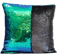 Mermaid Cushion Cover- Purple/Green RRP £7.99