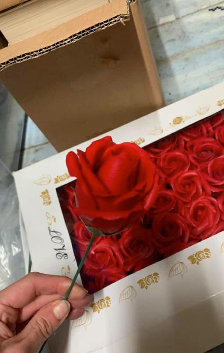 Soap Roses RRP £3.99