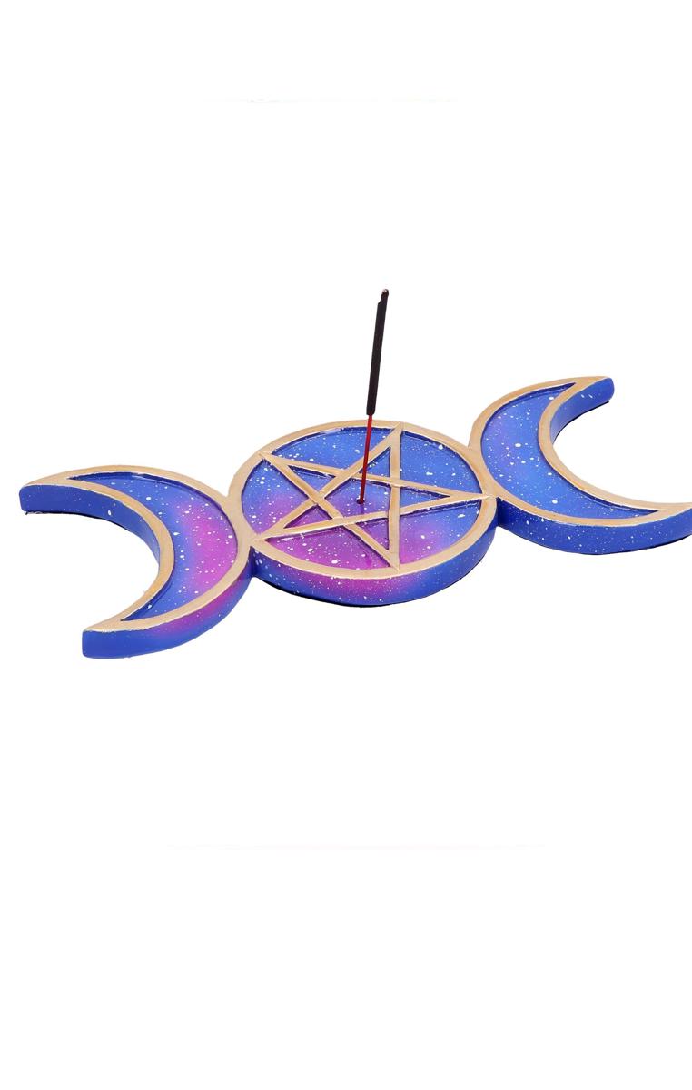 Triple Moon Incense Holder RRP £7.99