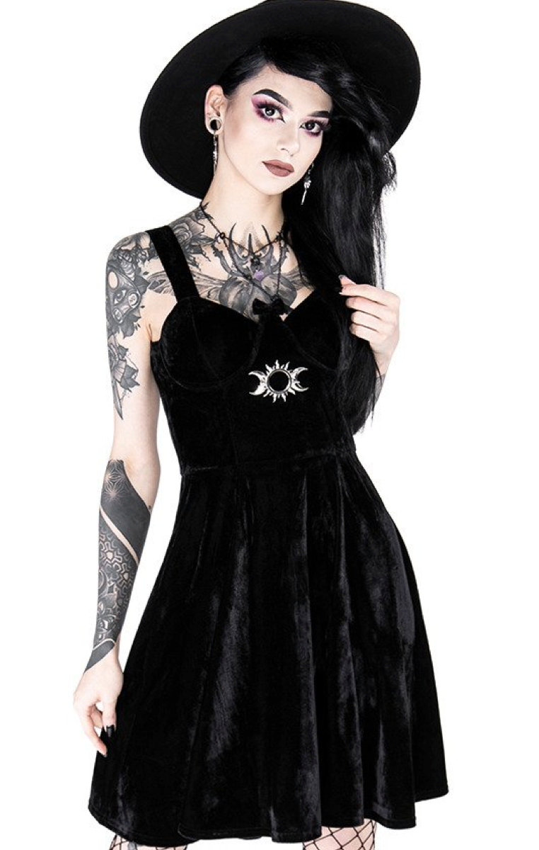 Triple Goddess Sweetheart Dress