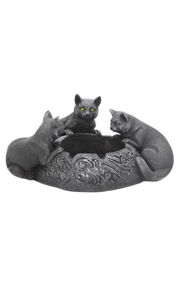 Feline Trio Ashtray/Candle Holder RRP £24.99