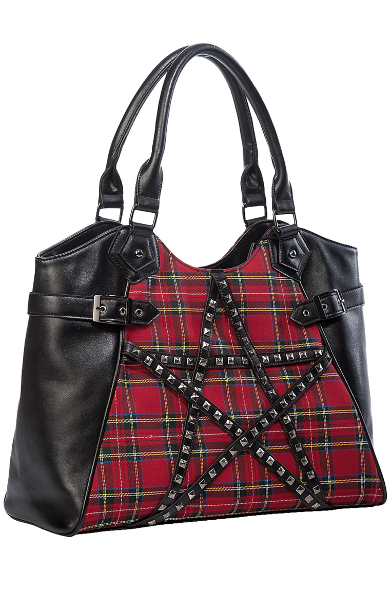 CALLING OF THE ECLIPSE HANDBAG - Tartan