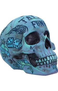 Tattoo Fund Skull - Blue PREORDER MARCH