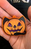 Cat Pumpkin Necklace RRP £15