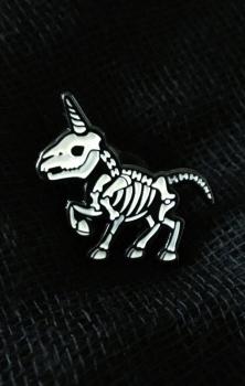 Uni Skele Enamel Pin Badge