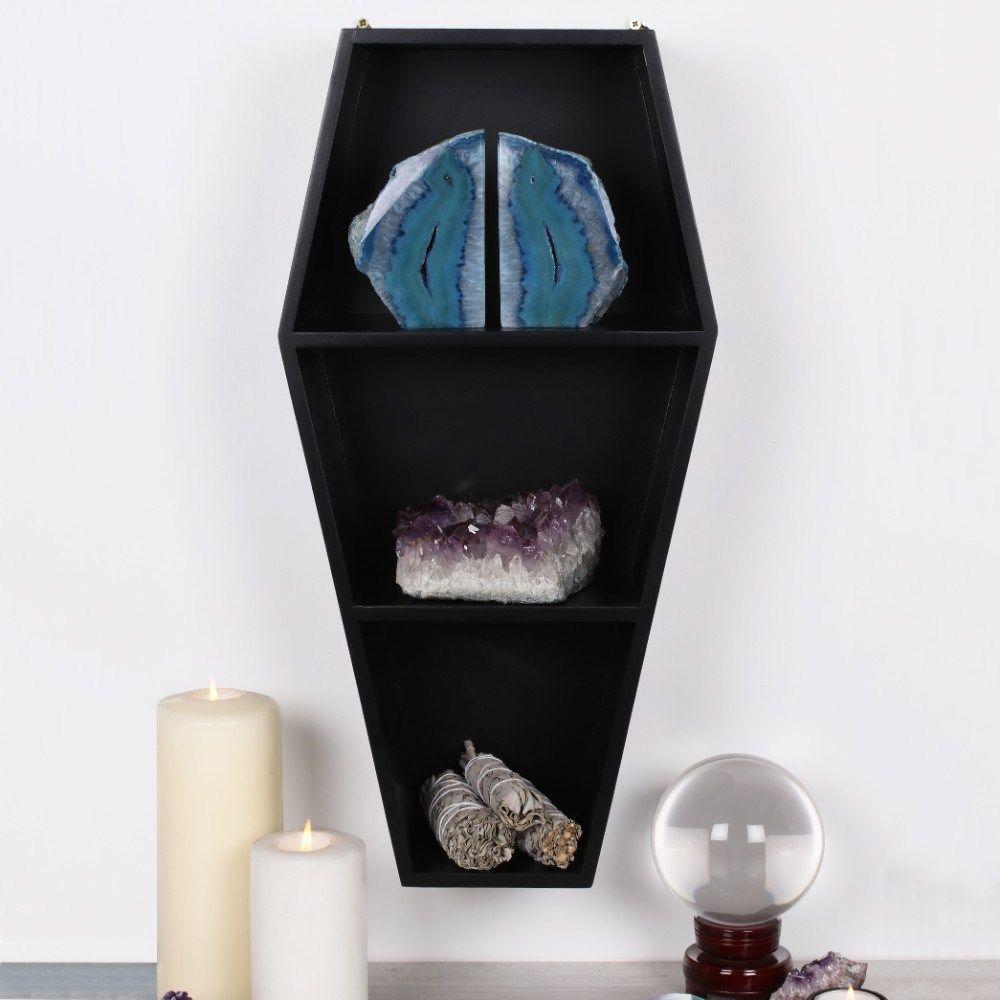 Coffin Shelf- Black RRP £29.99